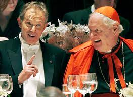 Tony Blair and the Cardinals. A 'pointy-Up' finger. Thanks to DM for pic.