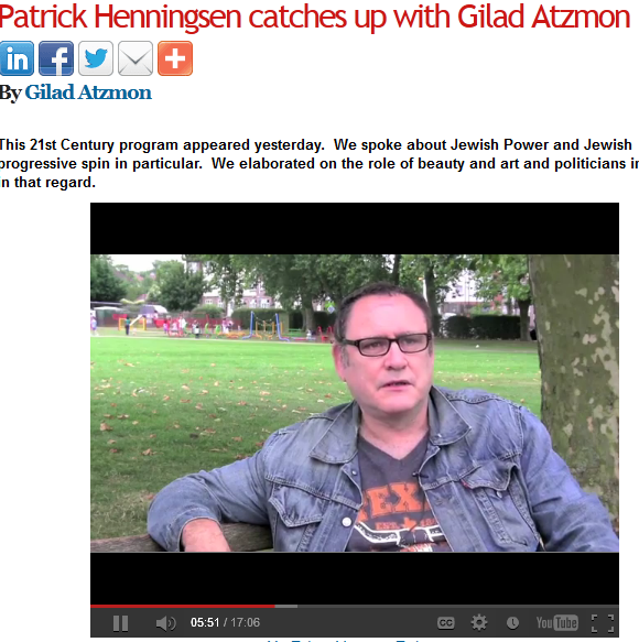 Patrick Henningsen and Gilad Atzmon