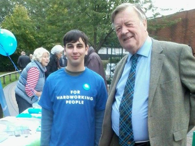 Ken Clarke and Elliott Johnson