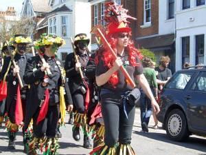 Morris Dancers Hastings