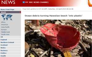 Plastic Debris BBC