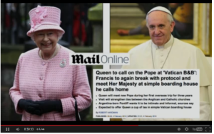 Queen Pope Argentin Junta Child Trafficking