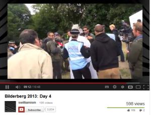 BBC escorted from Press Enclosure Bberg 2013
