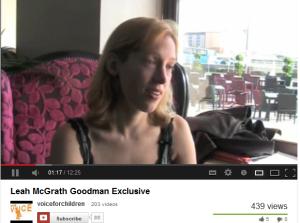 Leah McGrath Goodman 2013