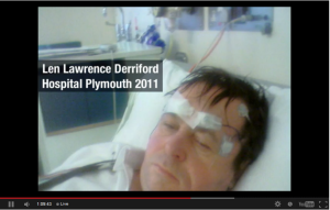 Len Lawrence Pilot In Derriford Hospital