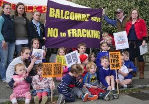 Balcombe wakes up to Fracking.