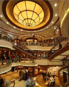 Grand Lobby Cunard