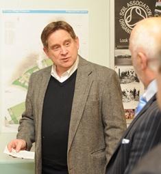 Mark Millar CEO Cuadrilla Weeton-Village-Hall