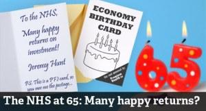 NHS 65th Birthday 5 July 2013