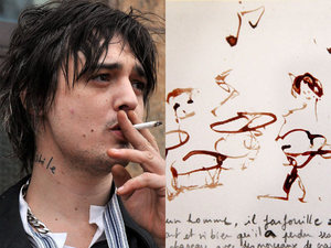 pete_doherty amy winehouse painting - ladylike