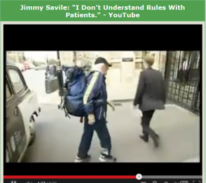 Savile and that Rucksac