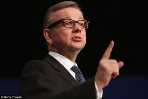 Gove Finger Wagging
