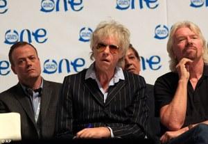 Geldof Climate Change