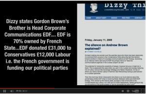 Gordon Browns Brother at EDF