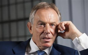 tony blair the big W
