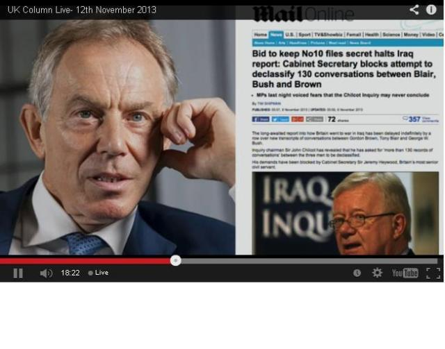 Blair Witholds Info From chilcott