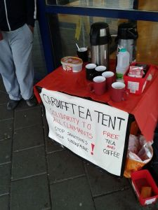 Cardiff Tea Tent
