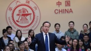 China Cameron BBC