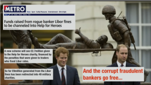 Help for Heroes and Libor