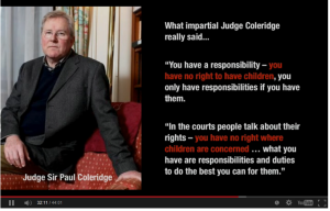 Paul Coleridge - You have not rights