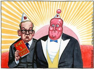 Steve Bell cartoon | 3.12.2013