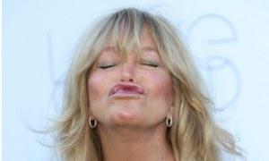 Goldie Hawn will attend Davos