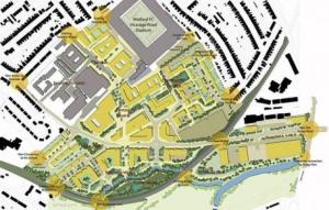 Health Campus plan