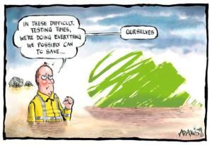 Flood Cartoon Telegraph