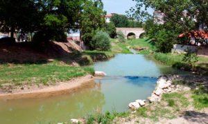 The bridge over the Rubicon River
