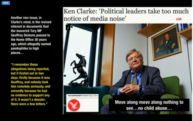 UKC 28 July 2014 Clarke smears Geoffrey Dickens