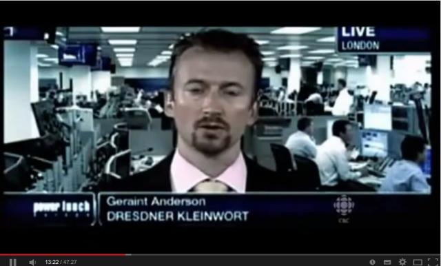 Geraint Anderson X Banker