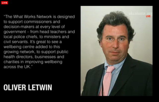 UKC 29 October 2014 WellBeing Studies Letwin Involved but Independent