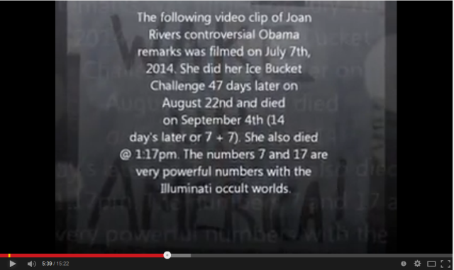 Joan Rivers died 4 Sept 2014