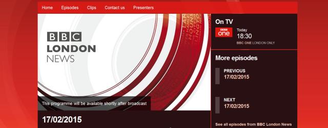 BBC London iPlayer
