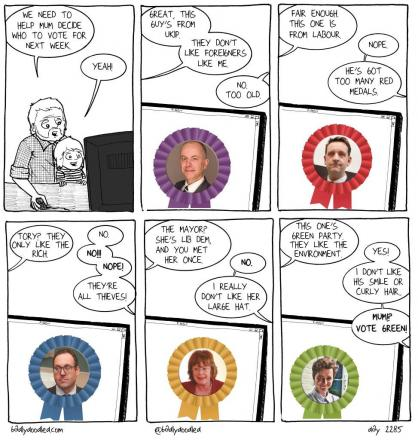 Comic Strip Election