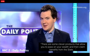 UKC 17 February 2015 -Osborne hide wealth and claim from the state
