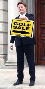 Danny Alexander Golf Sale