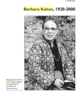 Barbara Kahan