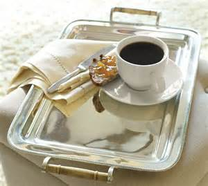 coffee silver tray