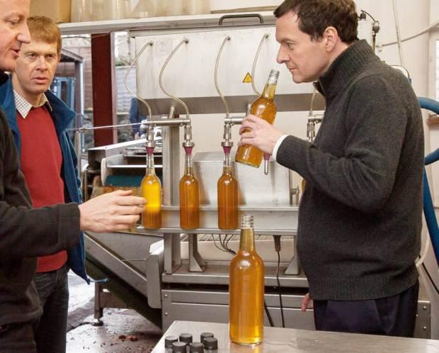 osborne sniffing cider