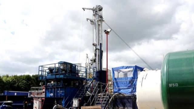 fracking test explosions