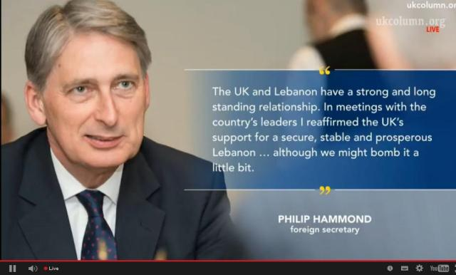 ukc 1 april 2016 what is hammond doing in lebanon
